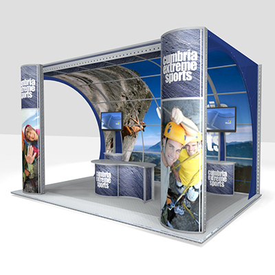 Modular Exhibition Stands : Modular exhibition stands for live marketing event showcases