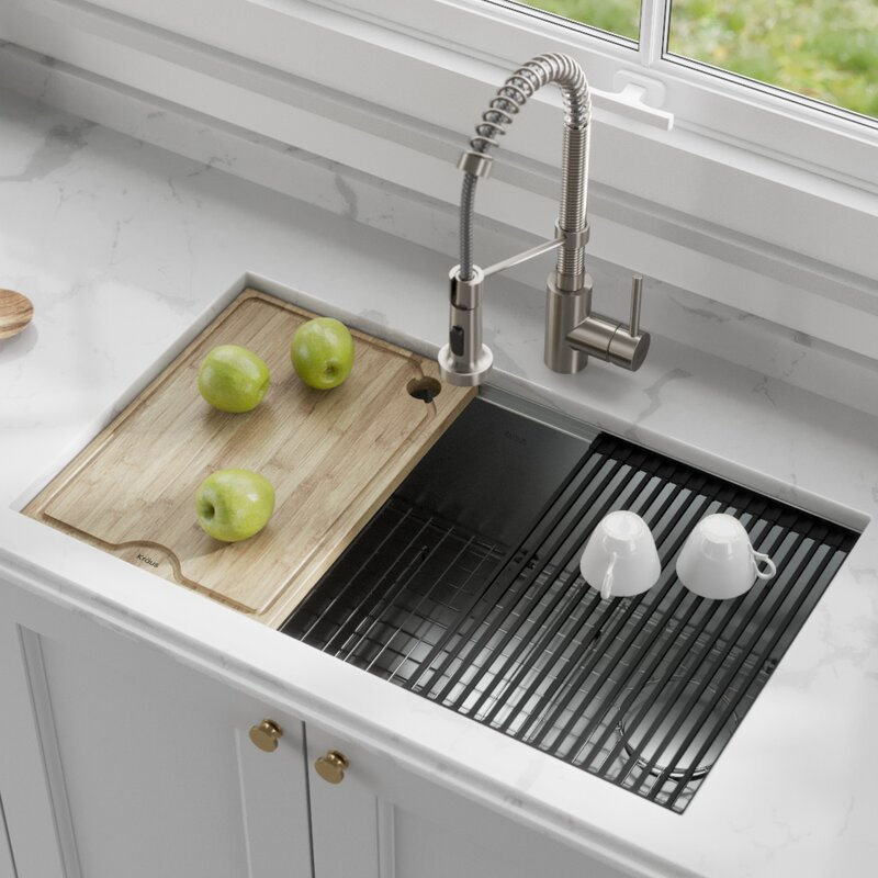 Why do people lust over workstation sinks during kitchen remodels?